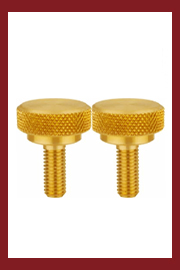 Brass Knurled Thumb Screws